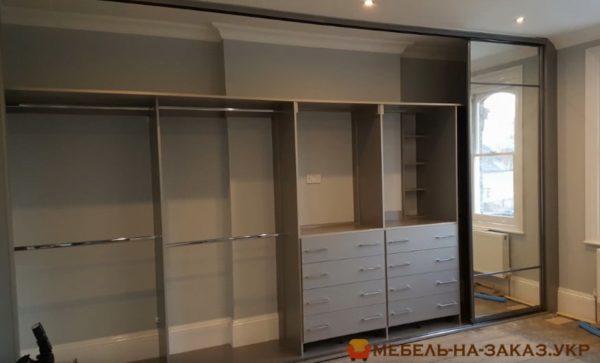 изготовление шкафа купе в гостиную