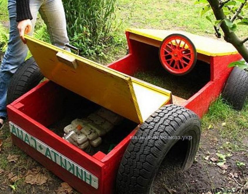 Как сделать машину для детского сада