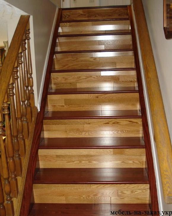 изготовление лестниц из дерева под заказ