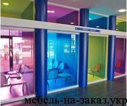 производство цветного стекла для мебели