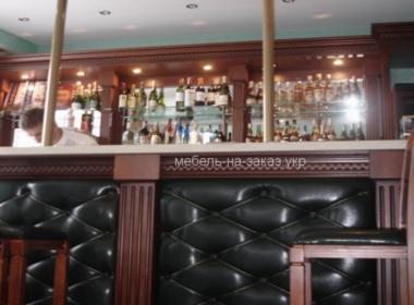 Деревянная барная стойка на заказ Ирпень