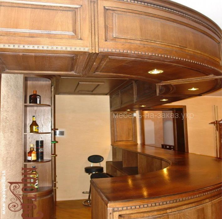 деревянная барная стойка под заказ Одесса