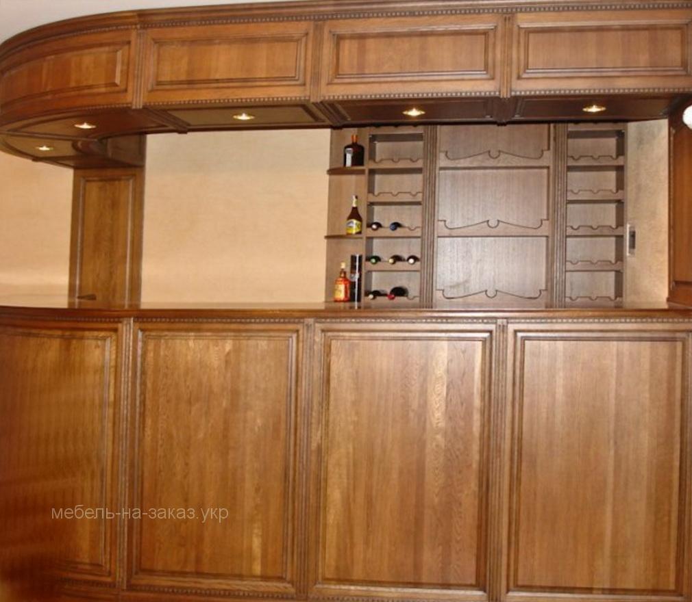 деревянная барная стойка под заказ Чернигов