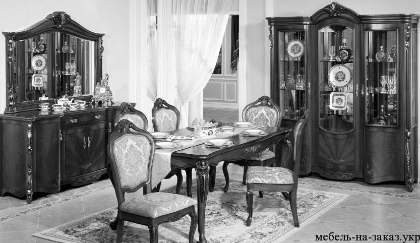 мебель в стиле рокко