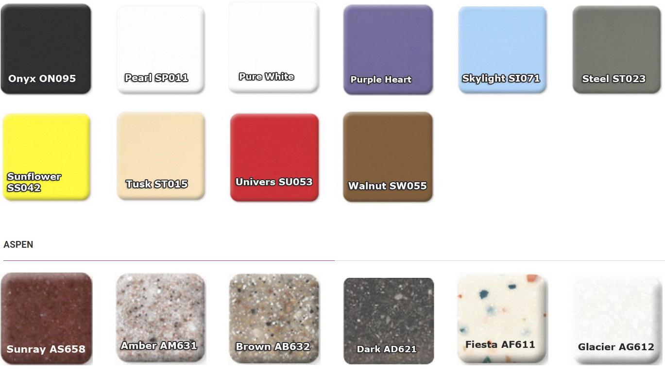 Акриловый камень для изготовления мебели