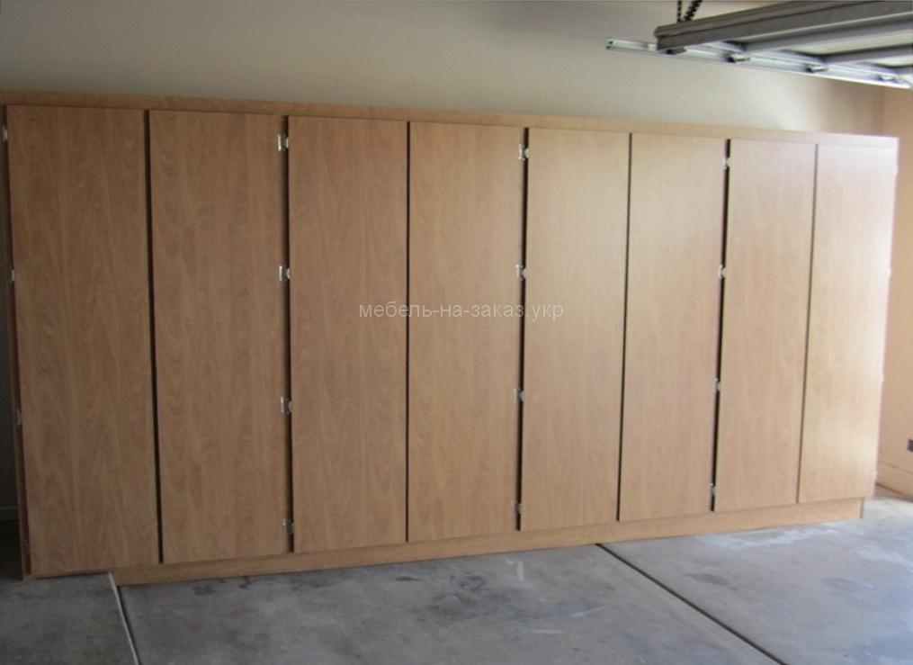 шкафы для гаража на заказ Борисполь