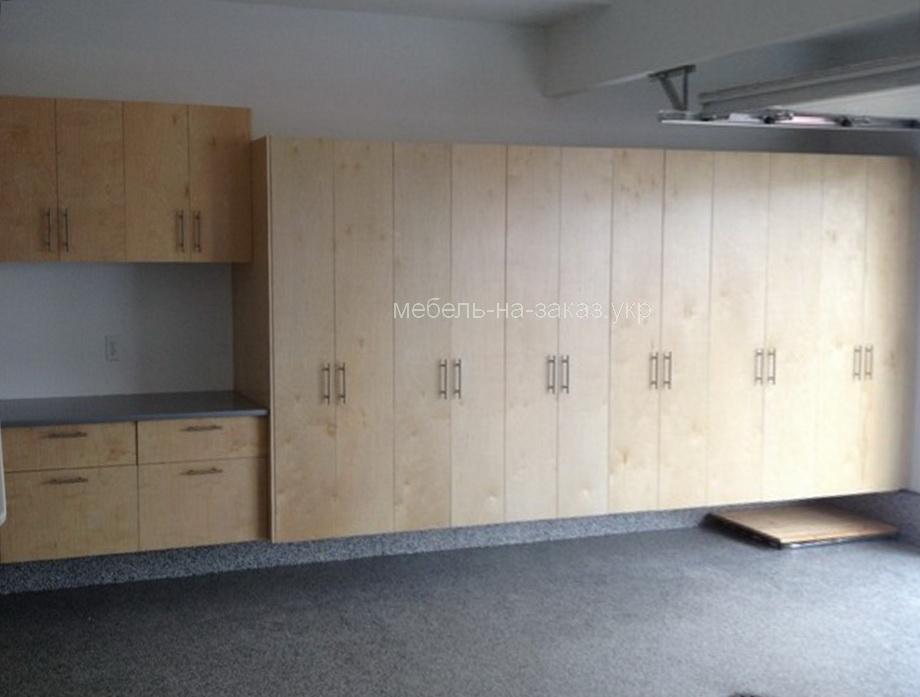 шкафы для гаража на заказ Житомир