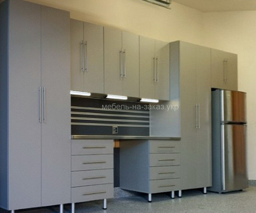 мебельная стенка в гараж на заказ