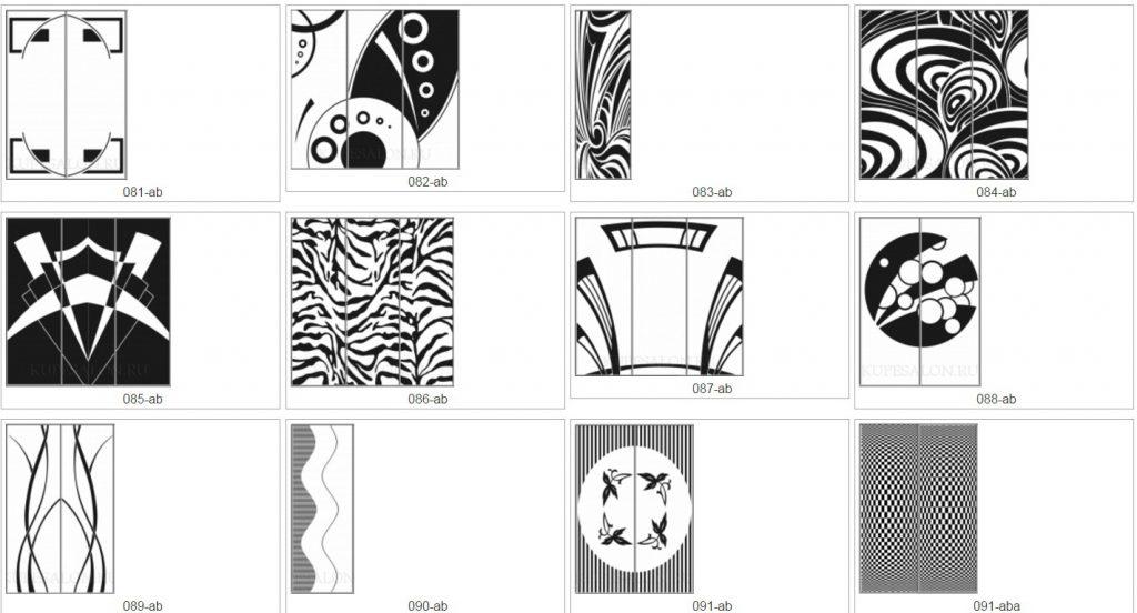 каталог рисунков для печати на мебели
