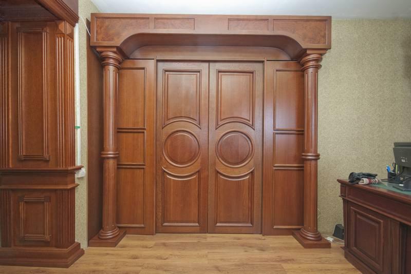 эксклюзивные деревянные двери на заказ