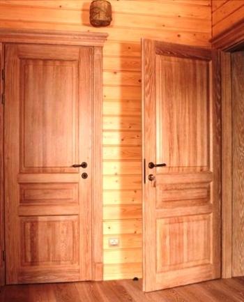 двери из массив под заказ