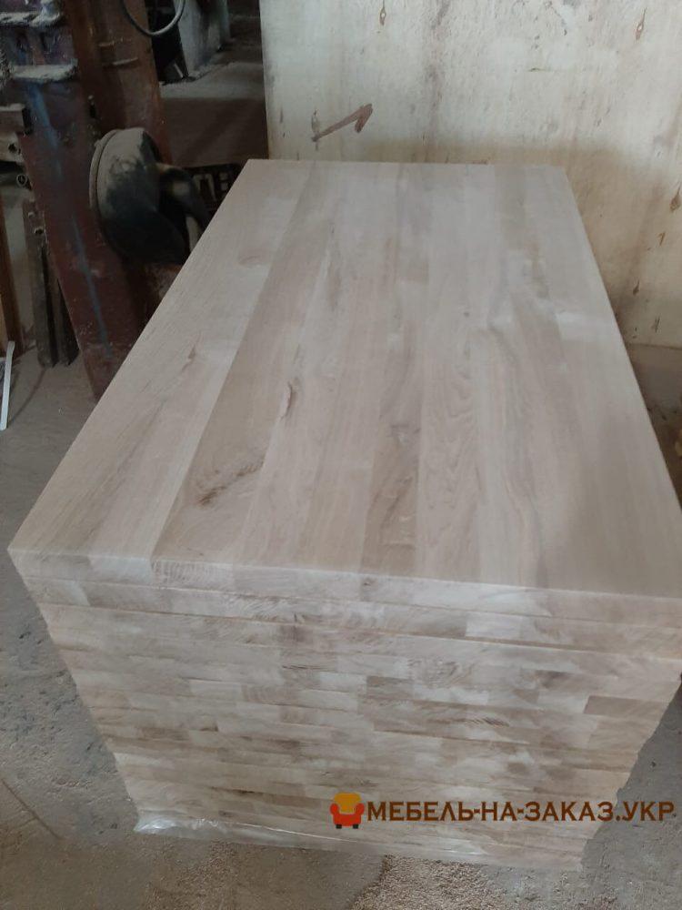 столешница из массива дерева под заказ