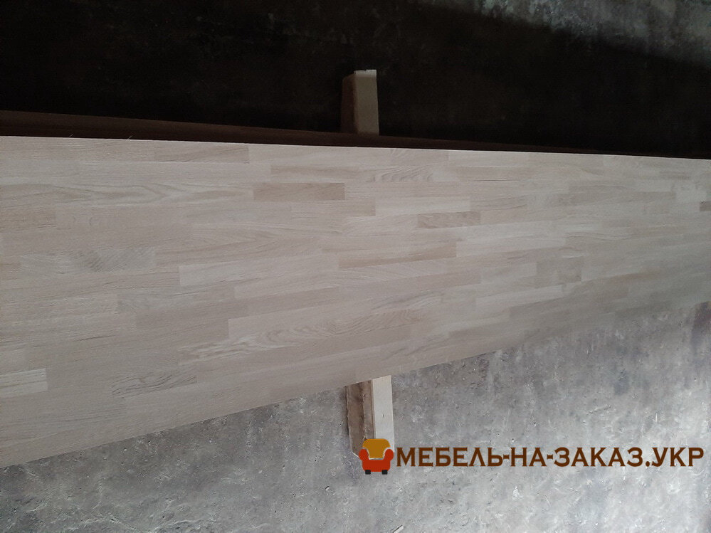 Изготовление столешниц из массива дуба под заказ Киев