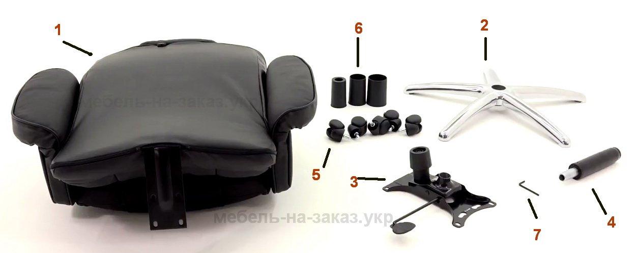 названия деталей кресла