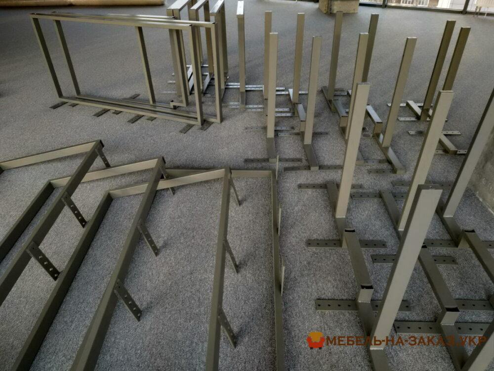 металлический каркас для офисной мебели