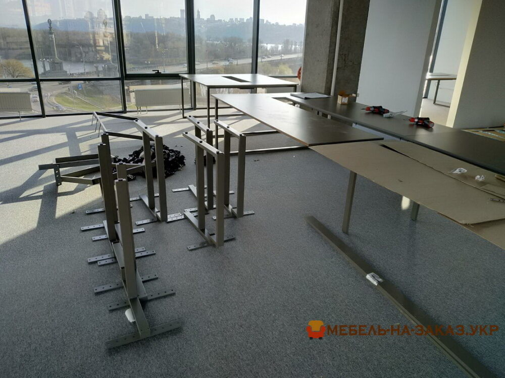 металлический каркас для офисной мебели на заказ