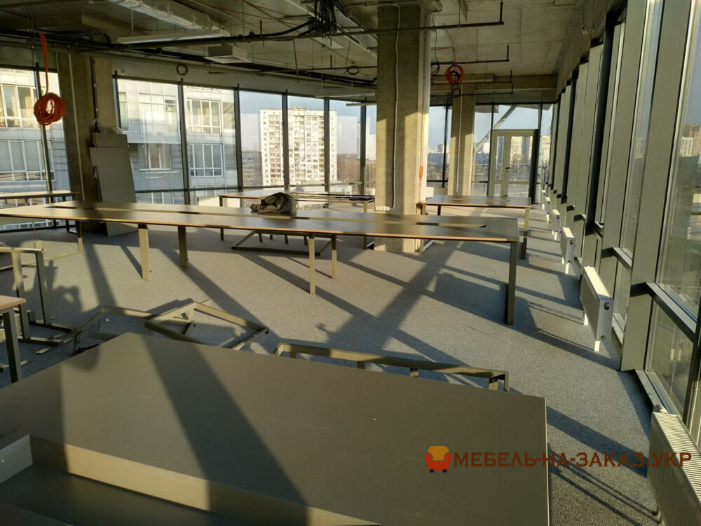 металлический каркас для офисной мебели на заказ Москва