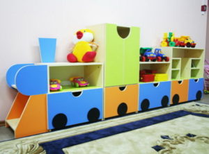 мебель для детей в виде паровоза