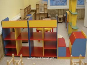 Заказ на изготовление мебели для детского сада.