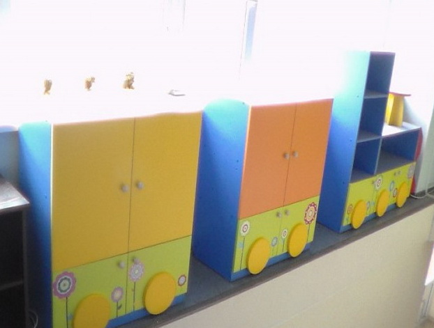 детские шкафы в виде машин