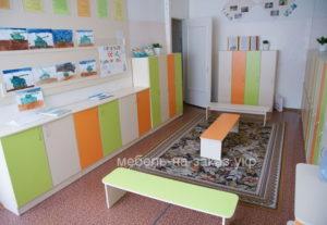 мебель в детскую раздевалку