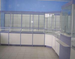 витрины для аптек под заказ в Киеве