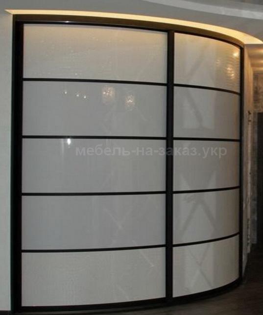 радиусный шкаф в офис