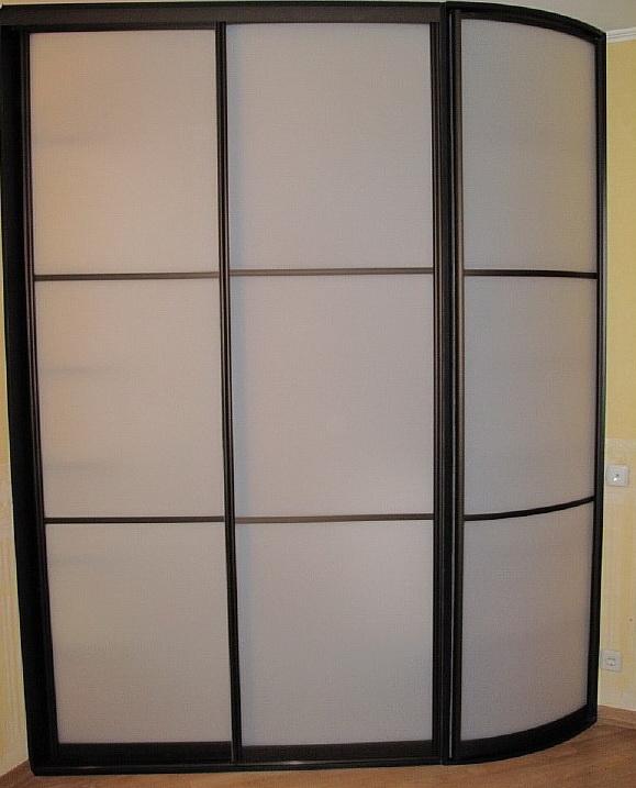формы шкафов купе