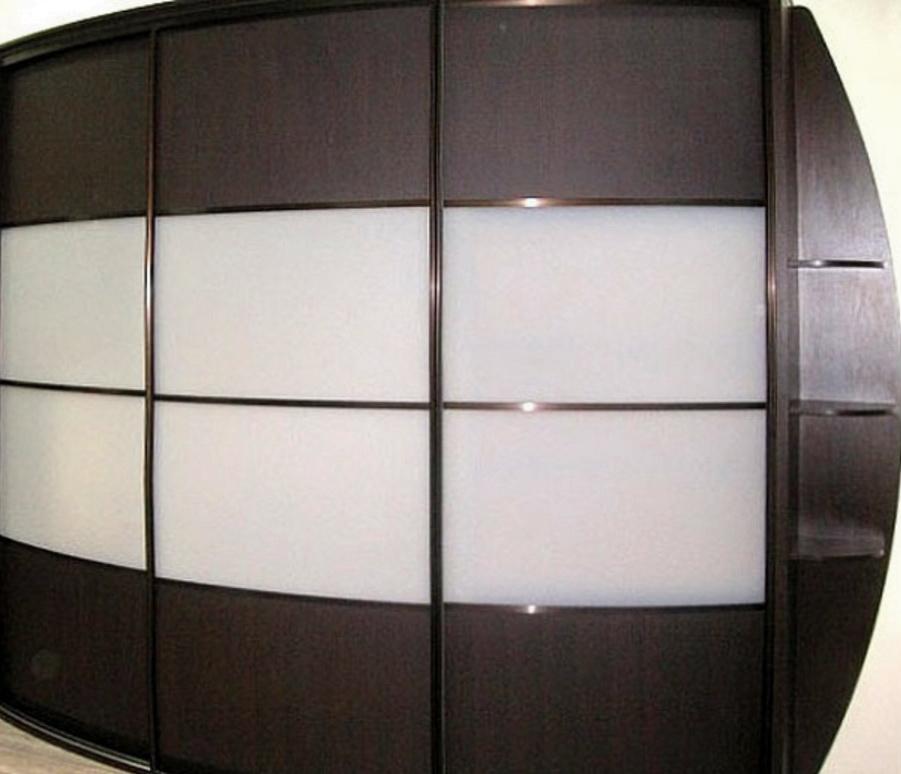 офисный шкаф с радиусными дверями