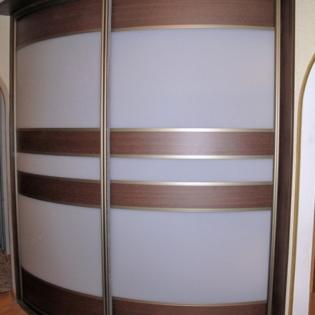 Радиусный шкаф под заказ