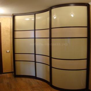 столько стоит радиусный шкаф на заказ под заказ Киев