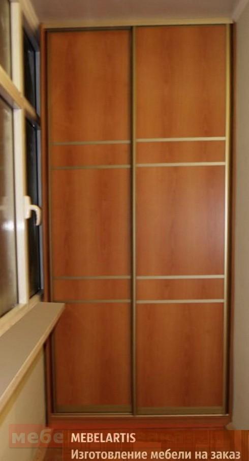 шкаф в ложию под заказ Украина