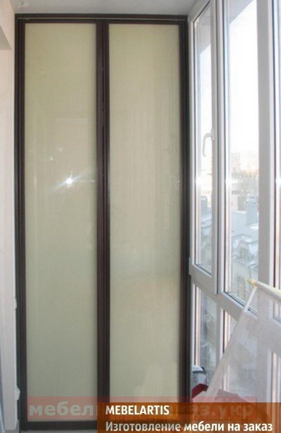 шкаф купе для балкона на заказ в Киевской области