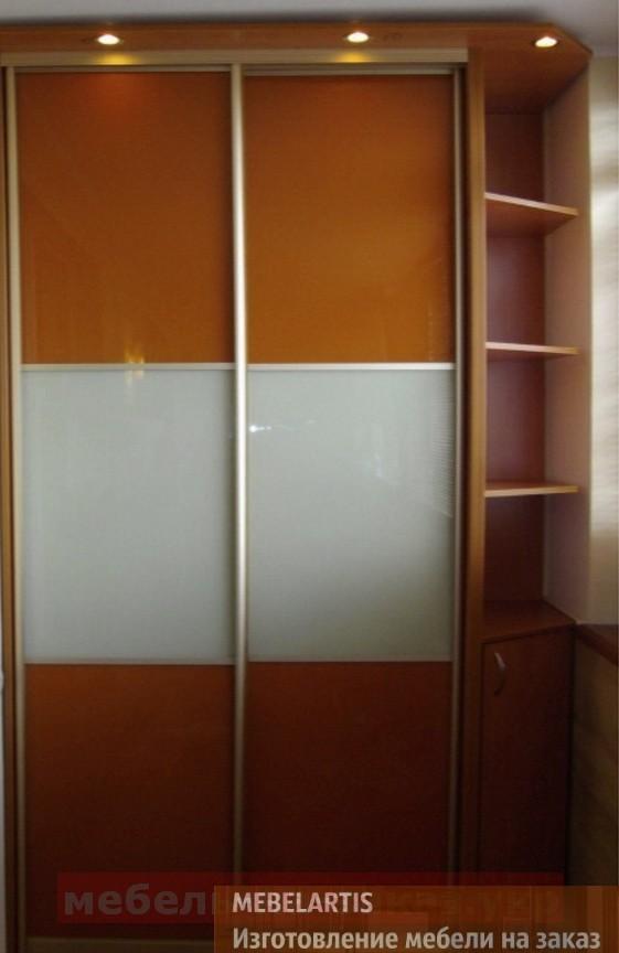 шкаф купе для балкона на заказ в Борисполе