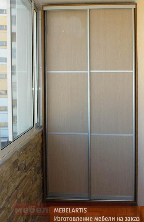 шкаф купе на балкон под заказ