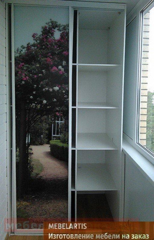 шкаф купе на балкон на заказ