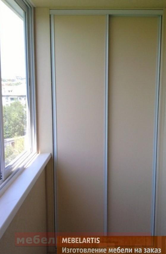 заказать изготовление шкафа-купе на балкон в Соломенский район