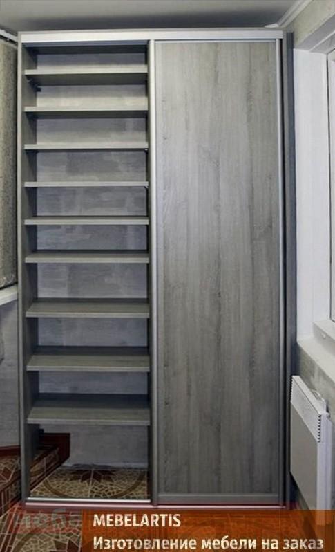 влагоустойчивый шкаф на балкон на заказ в Бышеве