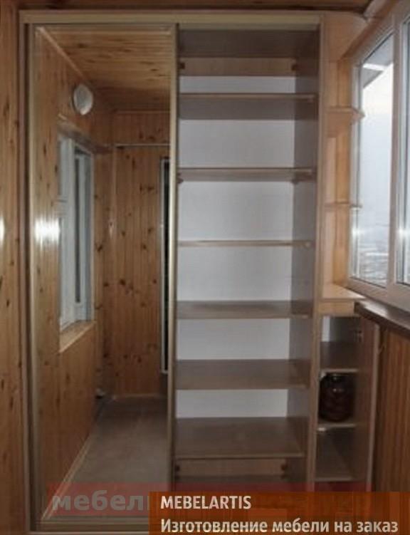 влагоустойчивый шкаф на балкон на заказ в Чернигове