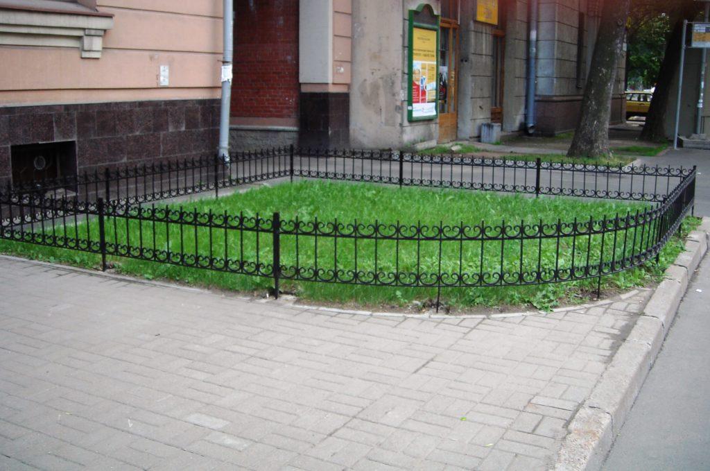 железный забор на заказ