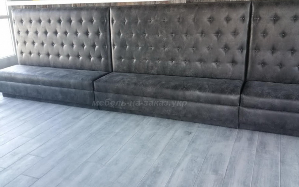 Upholstered furniture for the hotel