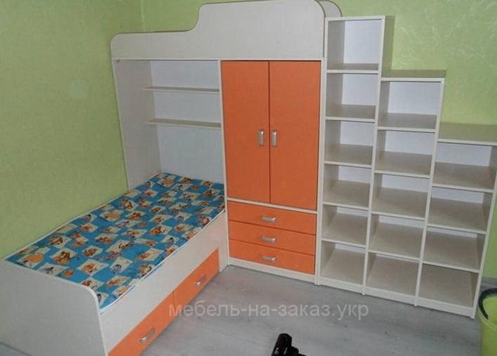мебель для детей оранжевого цвета