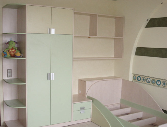 Мебель для детей белого цвета