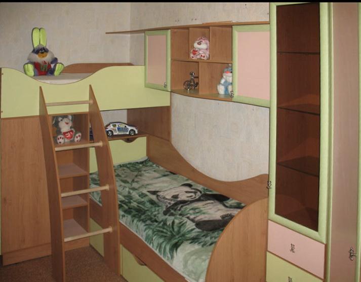 Недорогая детская мебель на заказ