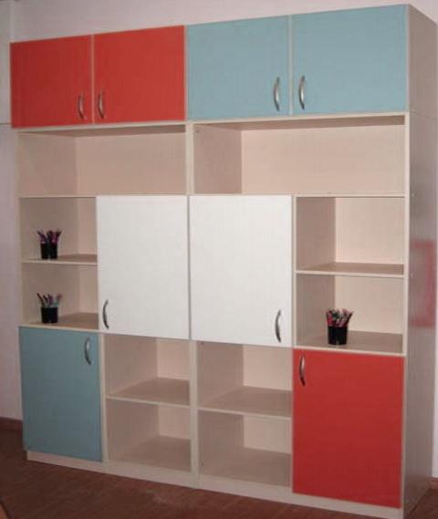 цветной детский шкаф на заказ