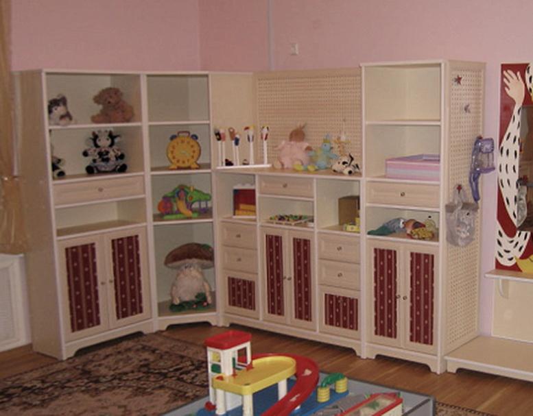 Угловой детский шкаф под заказ