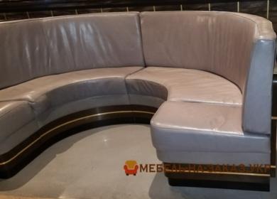 круглый диван в ресторан заказать