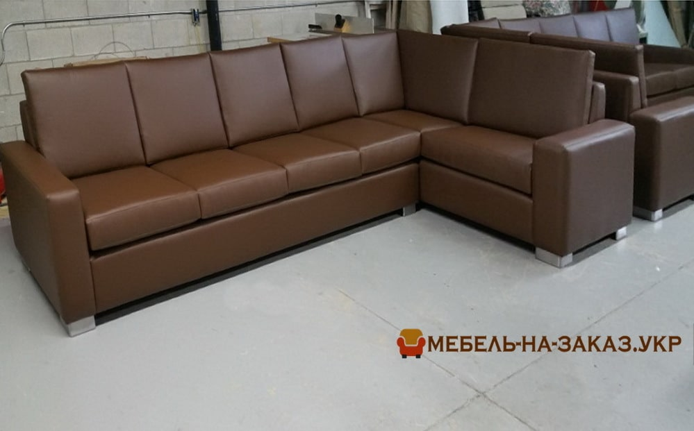 коричневый диван под заказ