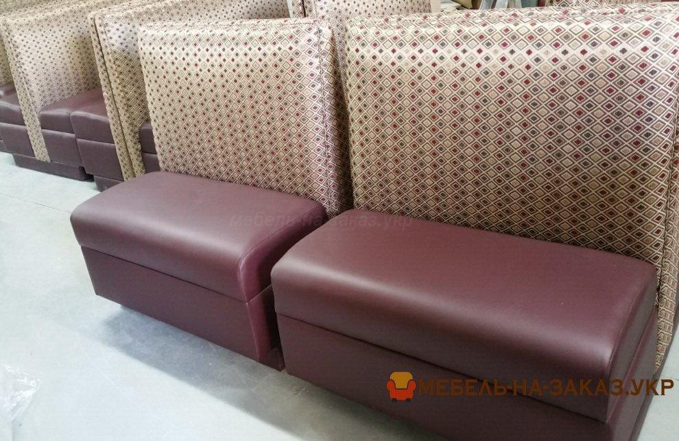 мягкая мебель для ресторана заказать