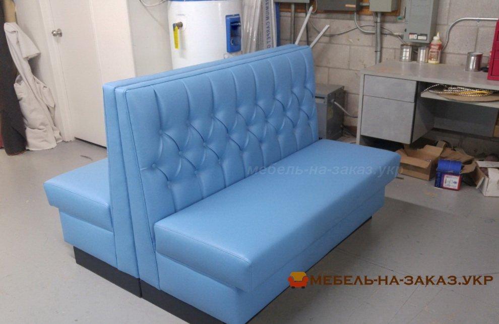 голубые диваны для ресторанов